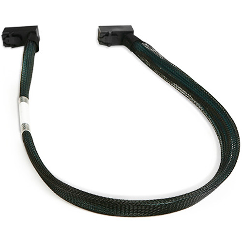 """iStarUSA HD miniSAS Right-Angle SFF-8643 to Right-Angle SFF-8643 Cable (19.7"""")"""