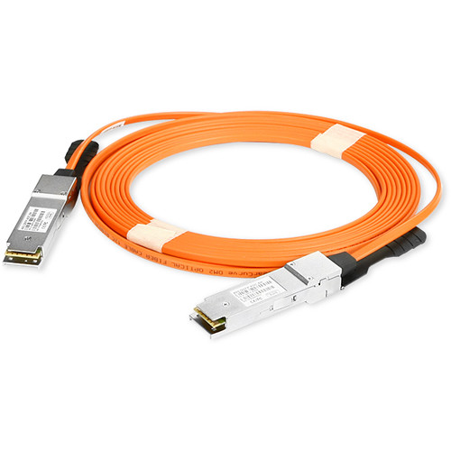 iStarUSA 56 Gb/s QSFP+ to QSFP+ Active Optical Cable (FDR Transfer Rate, 16.4')