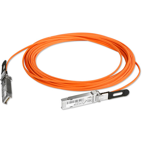 iStarUSA SFP+ to SFP+ Active Optical Cable (Orange, 32.8')