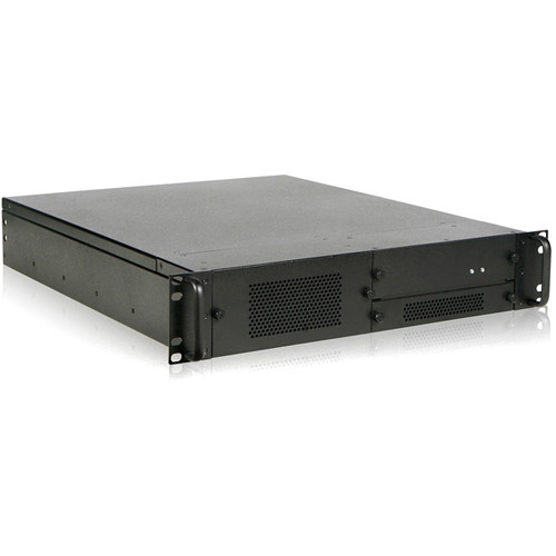 iStarUSA 2 RU Rugged Rackmount Chassis with 2x 90mm Fans