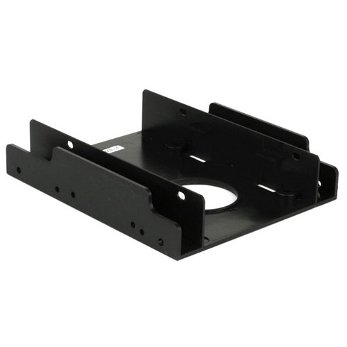"iStarUSA 3.5"" Drive Bay Bracket for 2x 2.5"" HDDs/SSDs"