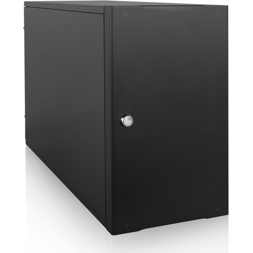 """iStarUSA S-917 Compact 7x 5.25"""" Bay mini-ITX Tower with 500W Redundant Power Supply"""