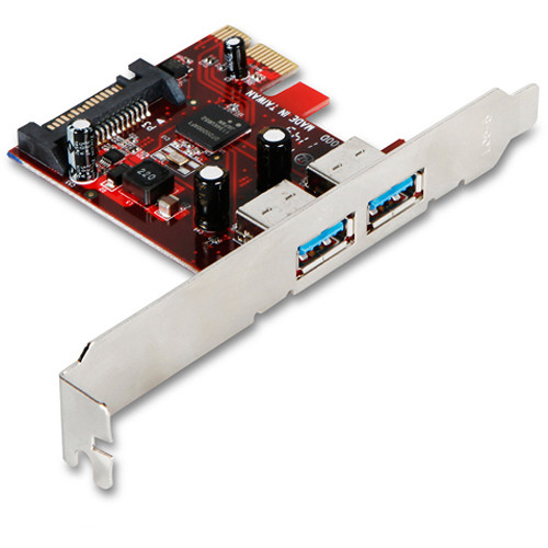 iStarUSA PCI Express 1x V2.0 to 2-Port USB 3.1 Gen 1 Host Controller