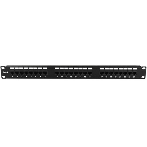iStarUSA 24 Port 1U Patch Panel