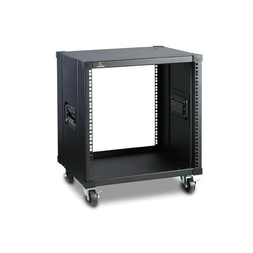 "iStarUSA 17.7"" Deep 10 RU Simple Server Rack (Black)"