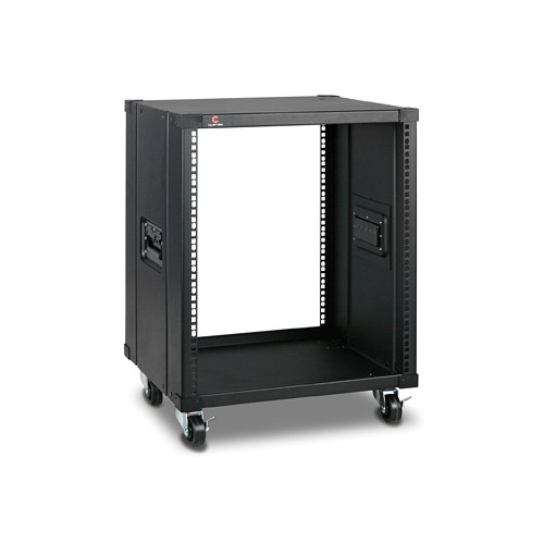 "iStarUSA 17.7"" Deep 12 RU Simple Server Rack (Black)"