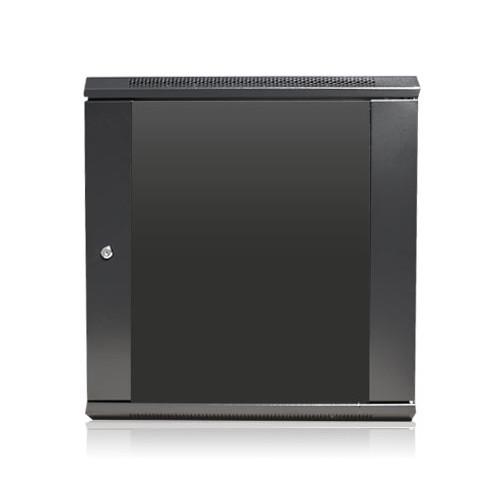 "iStarUSA Claytek WM1245-KBR1U Wallmount Server Cabinet with 1 RU Sliding Drawer (12 RU, 16"" Interior Depth)"