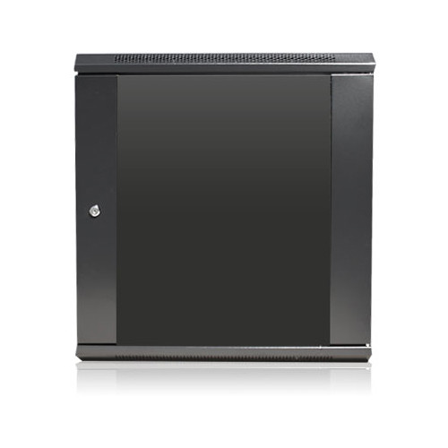 """iStarUSA Claytek WM1245-PD10 Wallmount Server Cabinet with 10-Outlet Overload Protection PDU (12 RU, 16"""" Interior Depth)"""