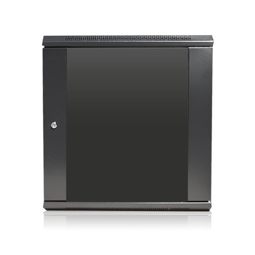 "iStarUSA Claytek WM1245-SFH25 Wallmount Server Cabinet with 1 RU Supporting Tray (12 RU, 16"" Interior Depth)"