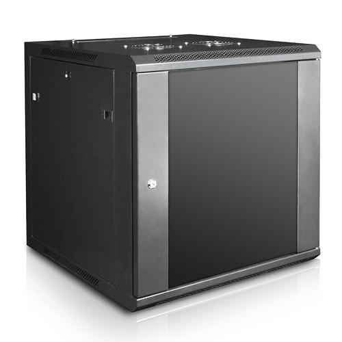 "iStarUSA Claytek WM1260-DWR2U Wallmount Server Cabinet with 2 RU Sliding Drawer (12 RU, 22"" Interior Depth)"