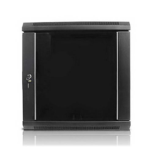 "iStarUSA Claytek WM1545-DWR2U Wallmount Server Cabinet with 2 RU Sliding Drawer (15 RU, 16"" Interior Depth)"