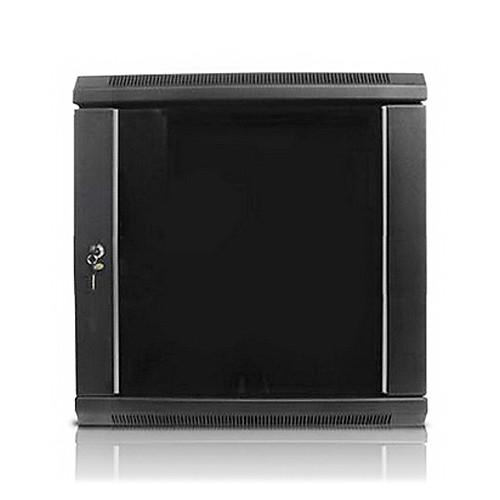 "iStarUSA Claytek WM1545-KBR1U Wallmount Server Cabinet with 1 RU Sliding Drawer (15 RU, 16"" Interior Depth)"