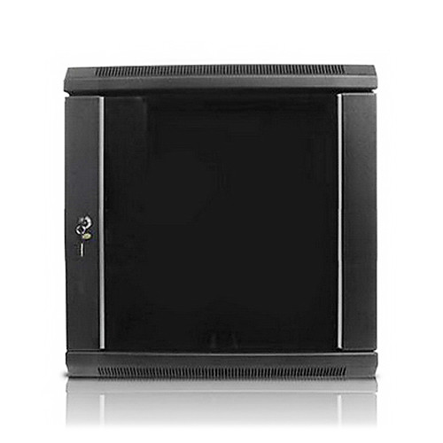 "iStarUSA Claytek WM1545-SFH25 Wallmount Server Cabinet with 1 RU Supporting Tray (15 RU, 16"" Interior Depth)"
