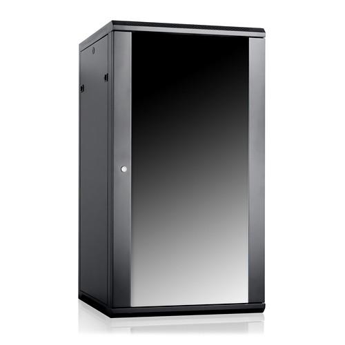 "iStarUSA Claytek WM2260-SFH25 Wallmount Server Cabinet with 1 RU Supporting Tray (22 RU, 22"" Interior Depth)"