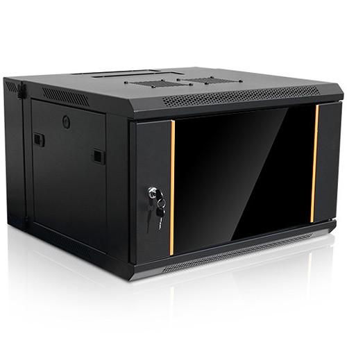 iStarUSA Claytek WMZ655-DWR2U Swing-Out Wallmount Server Cabinet with 2 RU Sliding Drawer (6 RU)