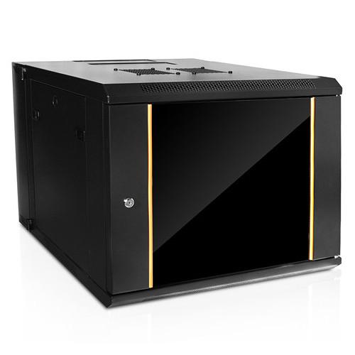 iStarUSA Claytek WMZ955-DWR2U Swing-Out Wallmount Server Cabinet with 2 RU Sliding Drawer (9 RU)