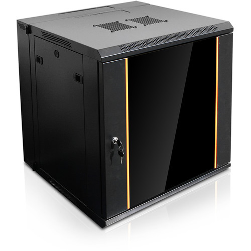 iStarUSA 550mm Deep Swing-Out Wall Mount Server Cabinet (12 RU)