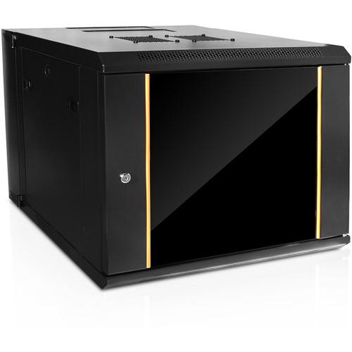 iStarUSA 550mm Deep Swing-Out Wall Mount Server Cabinet (9 RU)