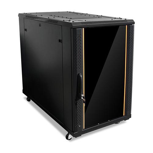 iStarUSA Claytek WNG1810-KBR1U Knock-Down Server Cabinet with 1 RU Sliding Drawer (18 RU)