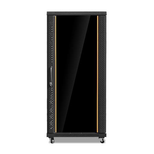 iStarUSA Claytek WNG2710-KBR1U Knock-Down Server Cabinet with 1 RU Sliding Drawer (27 RU)