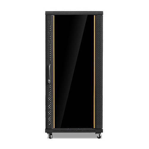 iStarUSA Claytek WNG2710-SFH25 Knock-Down Server Cabinet with 1 RU Supporting Tray (27 RU)