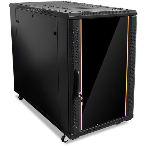 iStarUSA Claytek WNG-1810 Knock-Down Server Cabinet (18 RU, Black)