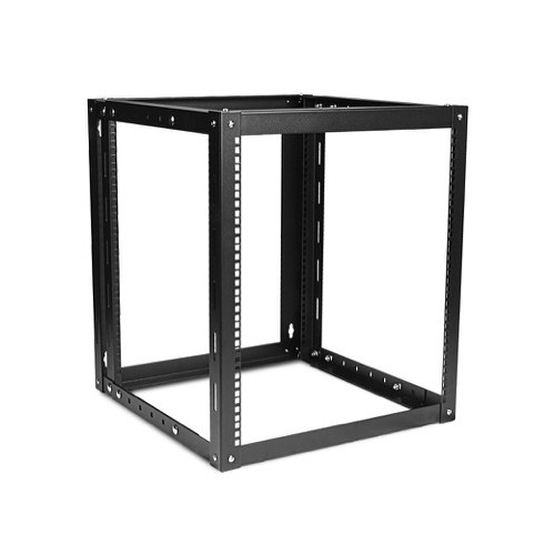 iStarUSA WOM-1280 Adjustable, Wall-Mount Server Cabinet (12 RU, Black)