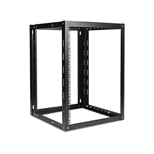 iStarUSA WOM-1580 Adjustable, Wall-Mount Server Cabinet (15 RU, Black)