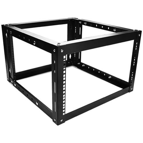 iStarUSA WOM-680 Adjustable, Wall-Mount Server Cabinet (6 RU, Black)