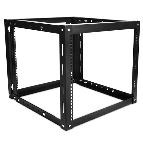 iStarUSA WOM-980 Adjustable, Wall-Mount Server Cabinet (9 RU, Black)