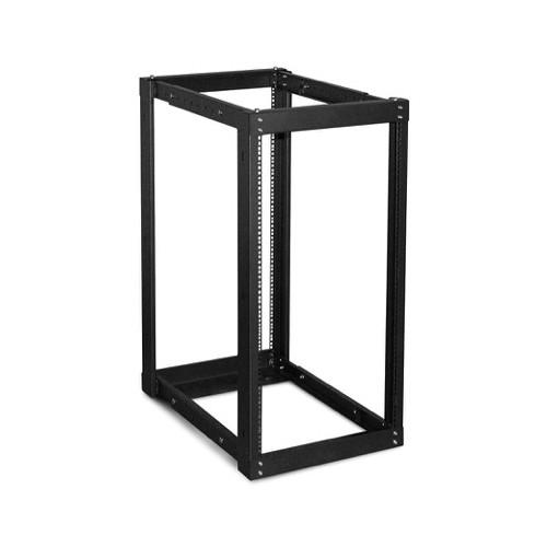 iStarUSA WOR-2211 Adjustable, Open-Frame Server Rack (22 RU, Black)