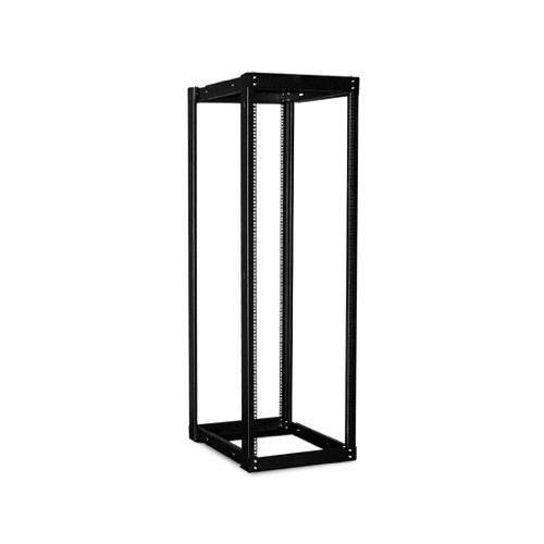 iStarUSA WOR-3611 Adjustable, Open-Frame Server Rack (36 RU, Black)