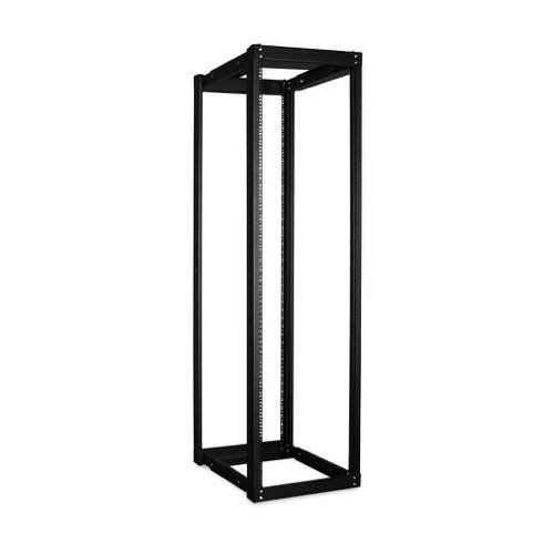 iStarUSA WOR-4211 Adjustable, Open-Frame Server Rack (42 RU, Black)
