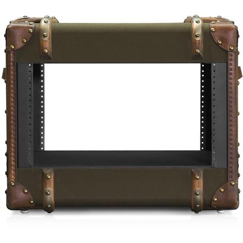 iStarUSA 450mm-Deep Retro Style Rackmount Cabinet (6 RU)