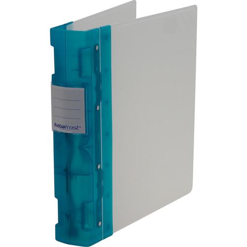 "Itoya Keba Frost 3-Ring Binder (8.5 x 11 x 2.25"", Green / Transparent)"