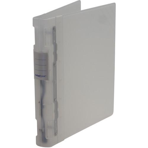 "Itoya Keba Frost 3-Ring Binder (8.5 x 11 x 1.5"", Transparent / Transparent)"
