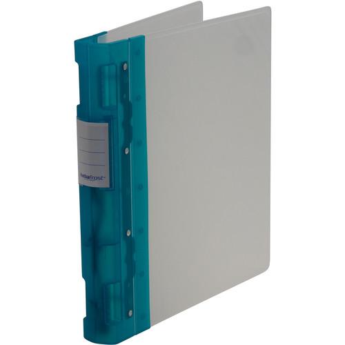 "Itoya Keba Frost 3-Ring Binder (8.5 x 11 x 1.5"", Blue / Transparent)"