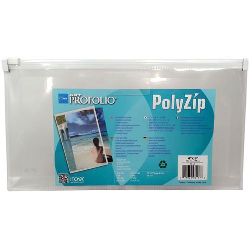 "Itoya PolyZip Art and Photo Envelope (4 x 9"")"