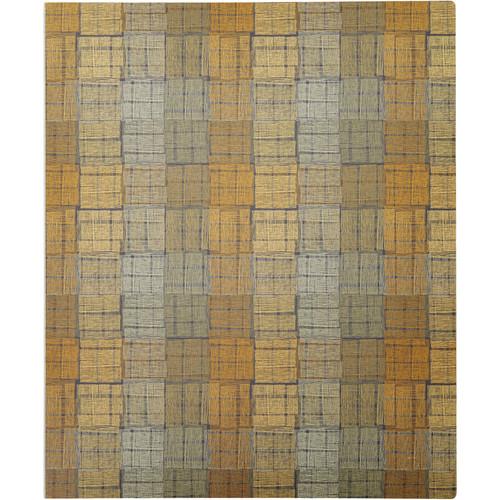 "Itoya ProFolio Expressions Presentation Book (8.5 x 11"", Brown Squares)"