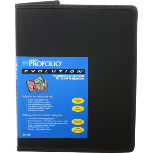 "Itoya 8.5 x 11"" Art Profolio Evolution Presentation & Display Book"