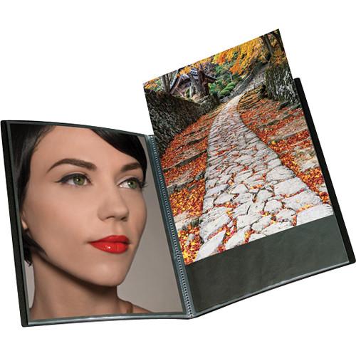 "Itoya Art Profolio Original Storage/Display Book (4.0 x 5.9"", 24 Two-Sided Pages)"