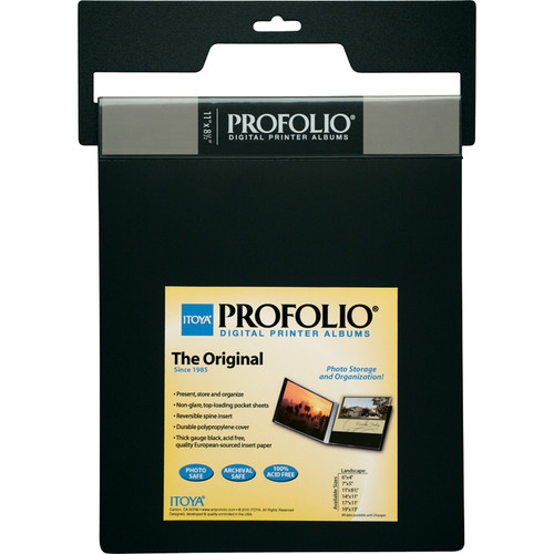"Itoya Profolio Digital Printer Album (14 x 11"", Landscape)"