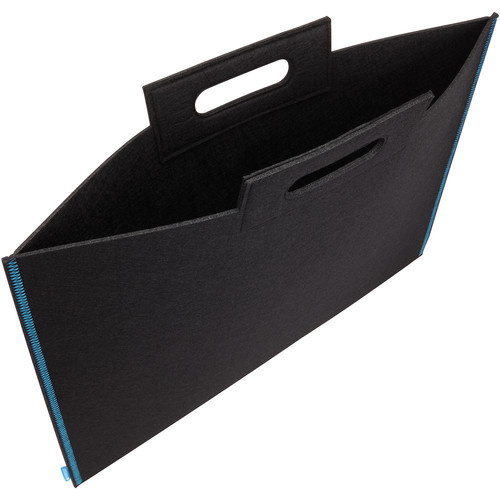 "Itoya Midtown Bag Large Format Artwork Carrier (23 x 31"", Black/Blue)"