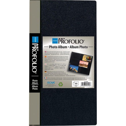 "Itoya Slim Profolio 4 x 6"" Photo Album (360 Photos)"