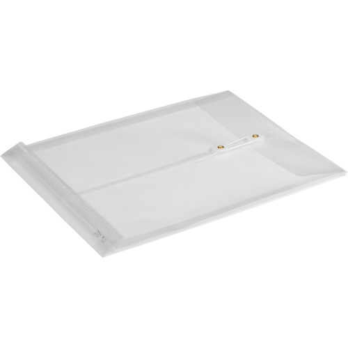 "Itoya PolyEnvelope with String and Button Closure (13 x 9.75 x 1.25"")"