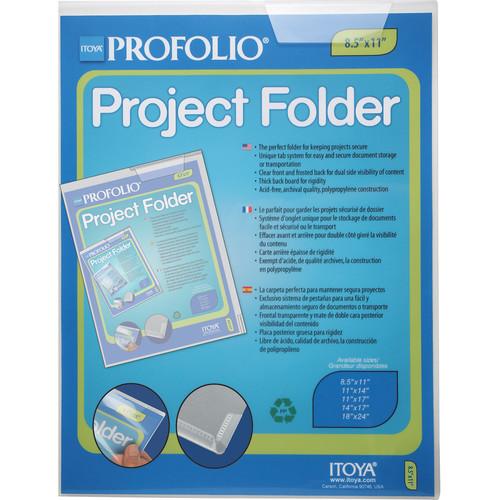 "Itoya Profolio Project Folder (11 x 14"")"