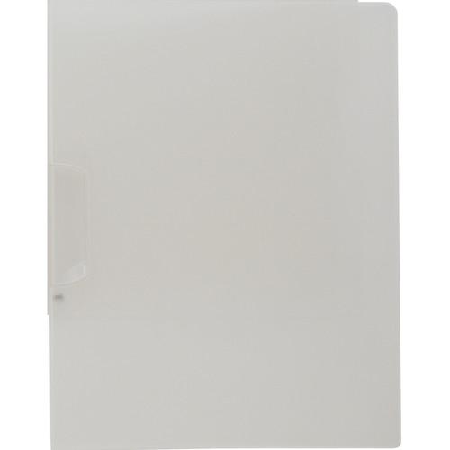 "Itoya 8.5 x 11"" Art Profolio SwingLock Art & Photo Presentation Folder (Portrait, Frost)"
