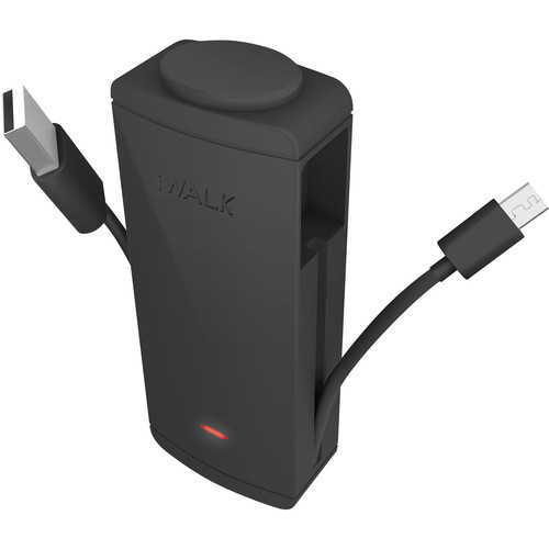 iWALK Charge It+ micro-USB 2600mAh Rechargeable Battery Pack (Black)