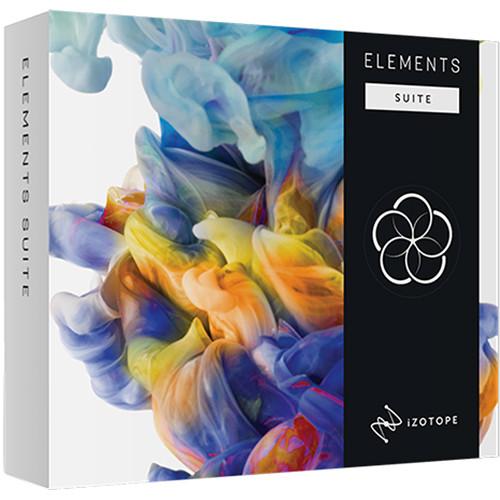 iZotope Elements Suite 3 - Software Bundle Including Nectar, Neutron, Ozone & RX Elements (Download)