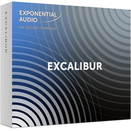 iZotope Exponential Audio Excalibur Multi-Effects Plug-In for Music & Post Production (Download)